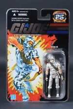 2007 Hasbro GI Joe 25th Anniversary Cobra Storm Shadow V22 Camo 1988 Foil MOC