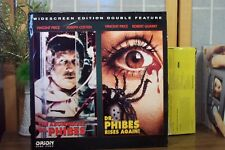 THE ABOMINABLE DR. PHIBES & RISES AGAIN 2 LASERDISC SET - ORION  SCI FI HORROR