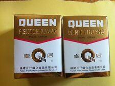2 Bottles Queen Brand Pientzehuang Pearl Cream for Skin Diseases/Acne/Blemish