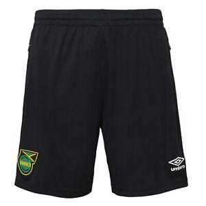 Umbro Men's Jamaica Soccer Shorts, Black
