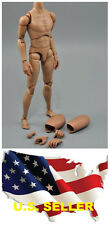 ❶❶1/6 Narrow Shoulder Male Body Action Figure for TTM18 TTM19 w/ Neck Hot Toy❶❶