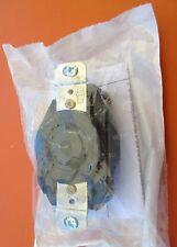 Hubbell Locking Receptacle NEMA L6-20R  20A-250V 2Pole 3Wire