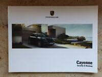 Porsche Cayenne Wartungsheft Scheckheft Garantiewartung Checkheft