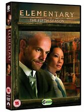ELEMENTARY Season 5 Box Set Complete Fifth Series Sherlock Holmes NEW DVD