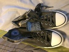 Convers HI All-Star Black Wash Sneakers 149468C Papyrus/Black SZ 11.5 NIB $65