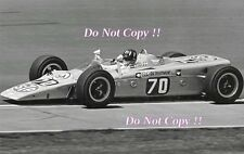 Graham Hill STP Lotus 56B Turbine Indianapolis 500 1968 Photograph 2