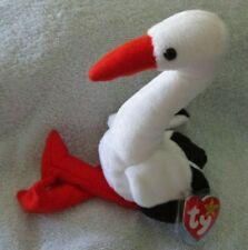Ty Beanie Baby Stilts the Stork  DOB June 16, 1998 MWMT