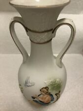 "Napcoware Athena Collection C-860 1 Ancient Greek Roman Flower Vase 7"" Tall"