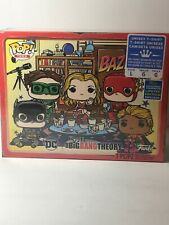 Big Bang Theory DC Superhero Bazinga Funko Pop Unisex L T-Shirt New Sealed