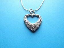 Glück Modeschmuck-Halsketten mit Herz-Schliffform