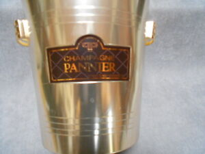 French Gold alu champagne ice bucket Cooler : PANNIER