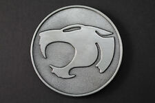 Thundercats Gris Métal Boucle Ceinture Dessin Animé Noir