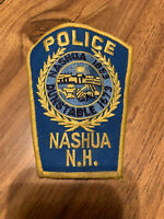 Nashua NH Police Patch
