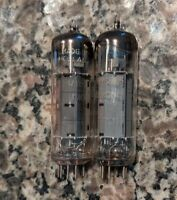 EL84 Tubes Matched Pair Made In Holland Hammond 6BQ5