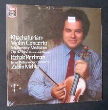 KHACHATURIAN Violin Concerto; ITZHAK PERLMAN; SEALED! EMI Angel Digital LP 1986