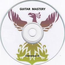 GUITAR MASTERY - Improve Guitar Playing Skill Music SUBLIMINAL HYPNOSIS CD