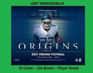 Derek Carr Las Vegas Raiders 2021 Panini Origins 2x Case 32x BOX BREAK #6