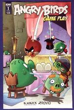 ANGRY BIRDS GAME PLAY 1 January 2017 9.2-9.4 NM-/NM IDW SUBSCRIPTION VARIANT!!!