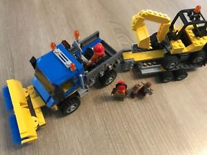 Lego City Deblayage De Chantier 60152. COMPLET