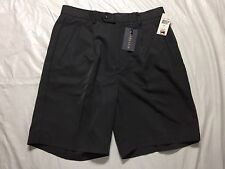 Chereskin Shorts Mens Size 34 Gray Pleated Micro Suede Touch NWT