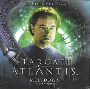 Big Finish Stargate Atlantis Meltdown David Nykl Audio CD
