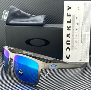 Oakley Holbrook Metal Sunglasses OO4123-0755 Gunmetal   Prizm Sapphire Polarized