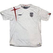 Umbro X-Static England Size XL White Soccer Futbol (Football) Jersey        2036