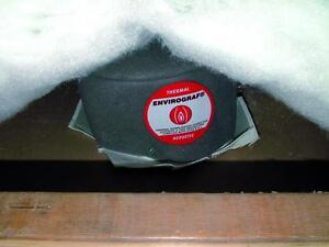 Downlight intumescent acoustic loft cover fire hood 130x130x70mm 60 minutes