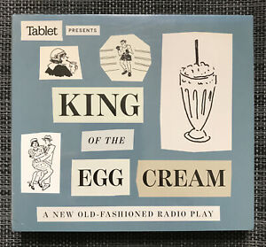 The King of the Egg Cream (1920s NYC Tale!) (2-CD) Cannavale, Barkin NEW