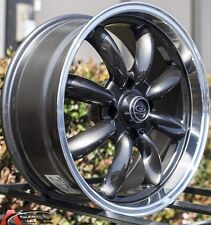 Gun Metal 17x7.5 +45 ROTA RB 4X100 Wheels FIT MINI COOPER S Jcw John Work Rims