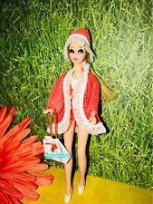 Vintage Topper Dawn Doll Fashion - Dawn Wearing HTF IN THE SWIM - Fits Pip