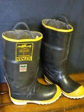 Ranger Firewalker Fireman Protective Boots Steel Tipped Size 7M Model 31240