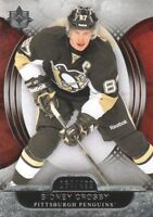 2013-14 Ultimate Collection Hockey #58 Sidney Crosby /499 Pittsburgh Penguins