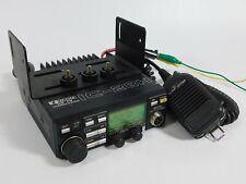 Icom IC-2HA Vintage VHF FM Ham Radio Transceiver w/ Mic + Bracket (works great)