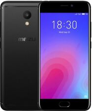 Meizu M6 32GB Black Mobile Phone Brand New Boxed Simfree Touch ID 3GB RAM b4d26aa8ad6
