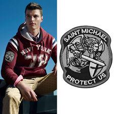 Hot Modern Saint St. Michael Protect Us Tactical USA Morale Patch_ES