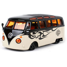 Maisto 1:25 Volkswagen Van Samba Harley Davidson Diecast Model Racing Car IN BOX