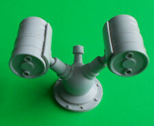 Double Depth Charge Thrower. 1/24th scale.  Model Boat Fittings.