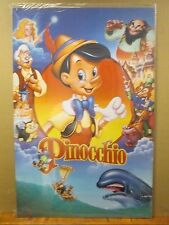 vintage The Walt Disney Company original Pinocchio  poster 12032