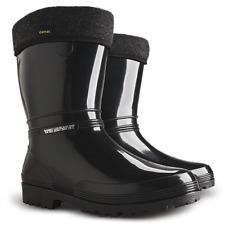 Lining Wellington Boots Womens Ladies Wellies Waterproof Walking Gardening Rain