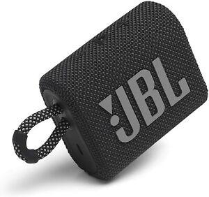 NEW JBL Go 3 Portable Wireless Bluetooth Waterproof Dustproof Speaker ⚫️Black