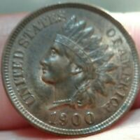 1900 Indian head cent Gem Br