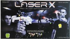 LASER X Two Player Laser Tag Gaming Set Outdoor Indoor Game 60m Distance Kids