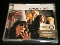 Aerosmith Gold - 2 CD's Album - 34 Greatest Hits Tracks - 2005 Geffen Records