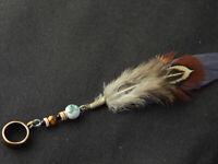 Feder für Dreads, Federschmuck, Haarschmuck, Dreadlock Beads