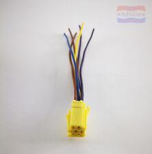 Mini ISO gelb 6-Pin Radio Adapter Reparatur Satz VW Audi Seat Skoda mit Kabel