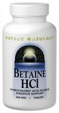 Source Naturals Betaine HCl - 90 Tablets