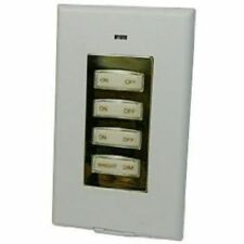 X10 Wall Style-Switch Gold 3 Unit + Dimmer Ss15-A => New-No-Box w/Fresh Battery