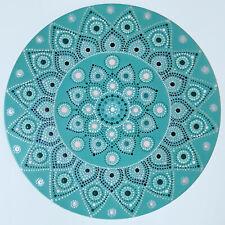 disc-mandala 2 / vinyl record mandala art handmade painting