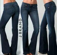 J BRAND Babe Starless Jeans SZ 29 Dark Blue Denim Flare Bell Bottoms Stretch
